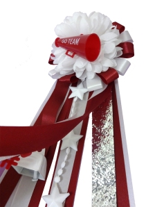 add ribbon to spirit booster