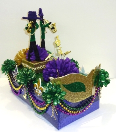 Jazz Players mini float