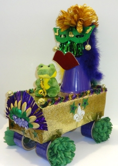 Mardi Gras Alligator Float