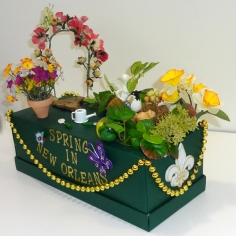 Spring in New Orleans mini float
