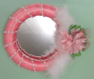 mirror wreath