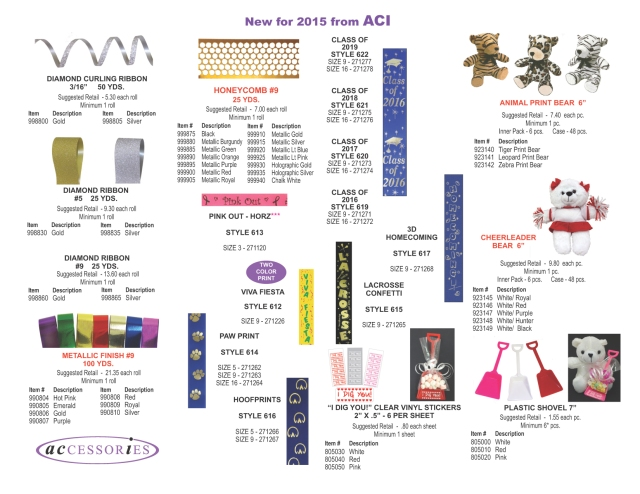 NEW RIBBON AND PLUSH FOR 2015 copy