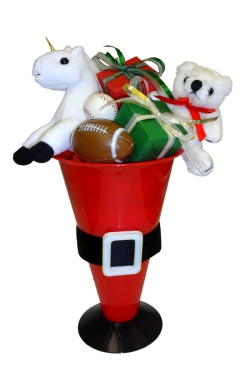 megaphone christmas centerpiece copy