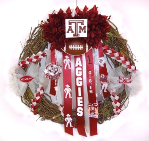 Texas Aggies Wreath