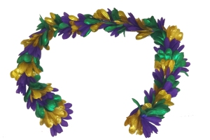 mardi gras petal boa