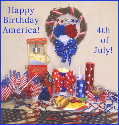 4th July table copy