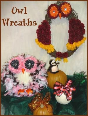 owl-wreaths