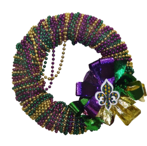mardi-gras-bead-wreath