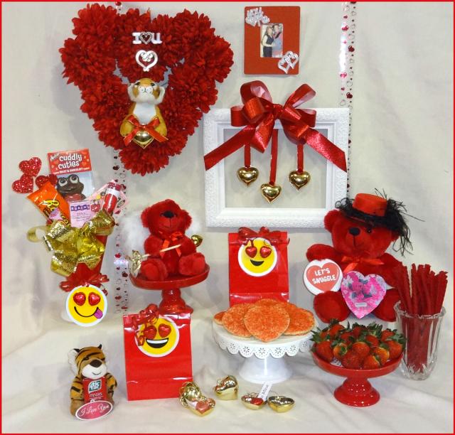 valentine-setting