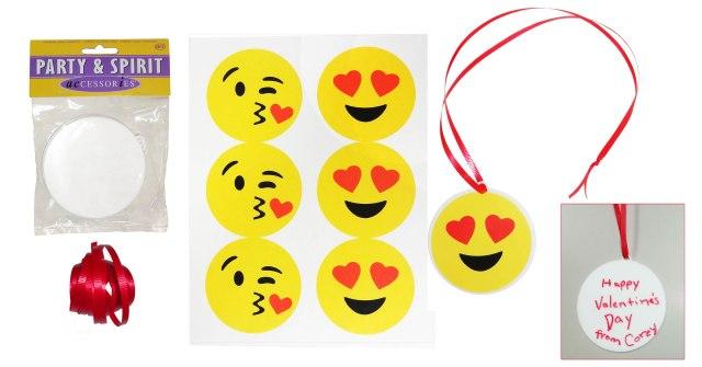 emoji valentine charms